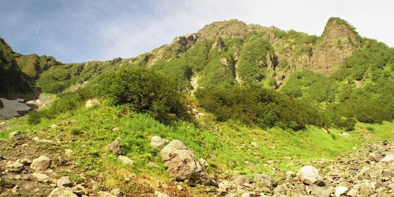 南アルプス北岳への道