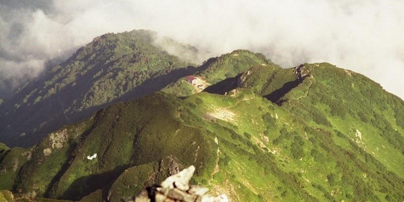 北アルプス 剣岳早月尾根