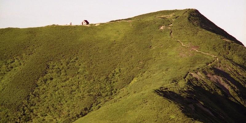北アルプス荒川前岳