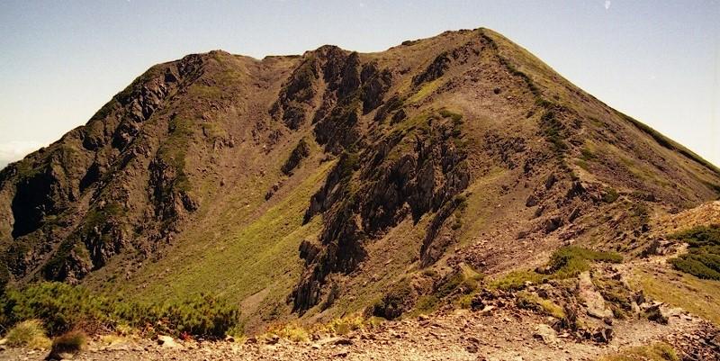 南アルプス赤石岳