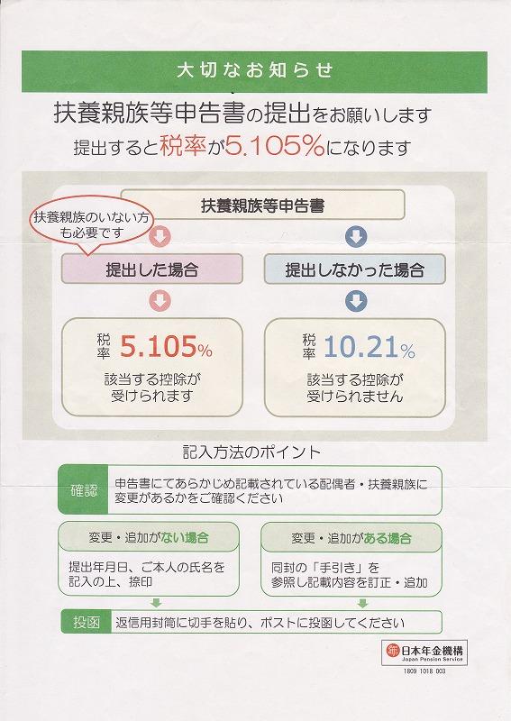 平成30年大切なお知らせ